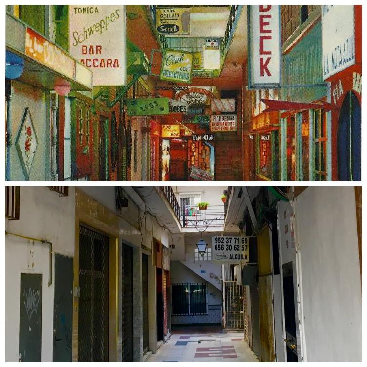 Pasaje Begoña, antes y ahora
