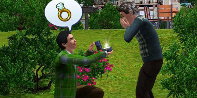 Sims gay