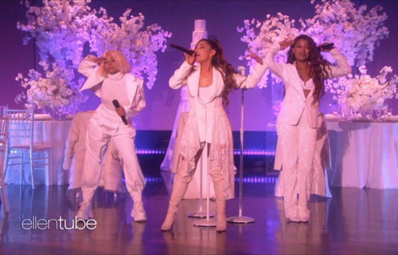 Ariana Grande Thank U Next Ellen