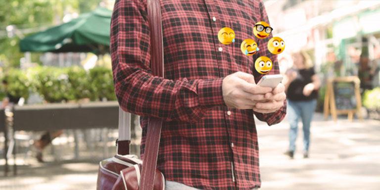 Hablar mediante emojis en Grindr