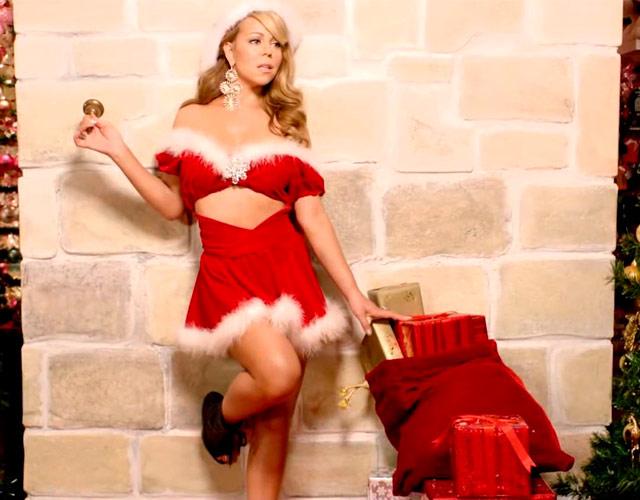 Mariah Carey Look Navidad
