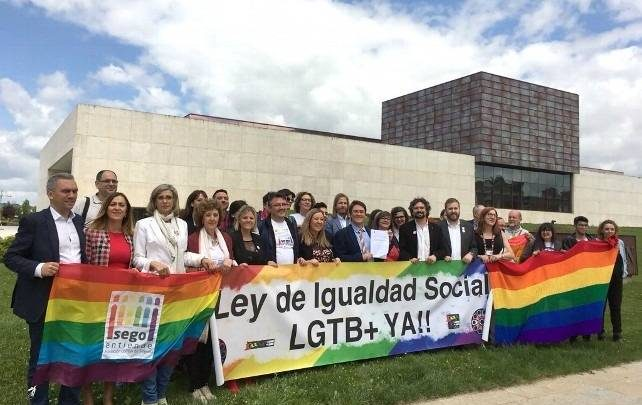 """La Federación LGTB de Castilla y León pide """"acelerar"""" el trámite de la ley de diversidad sexual"""