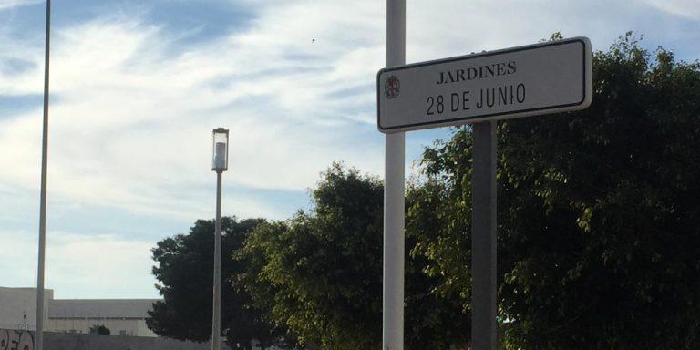 Denuncian el estado lamentable de los Jardines 28 de junio de Almería