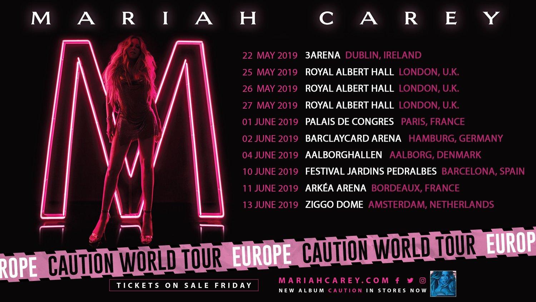 Mariah Carey vuelve España con su gira Caution