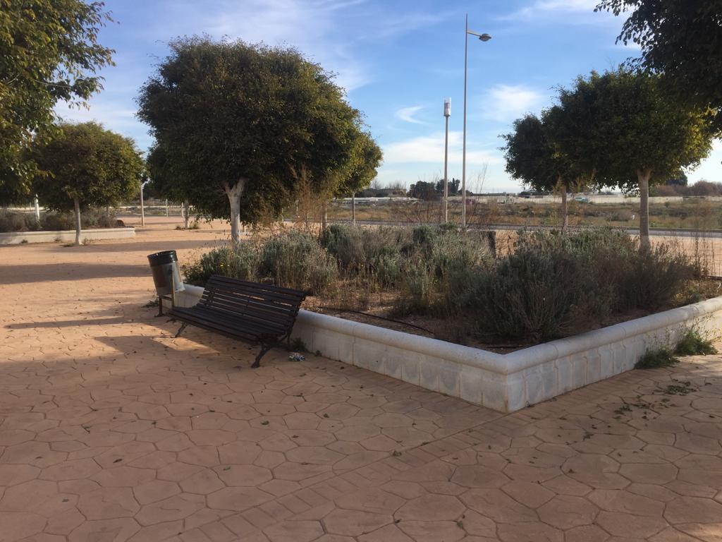 Jardines 28 de junio de Almería