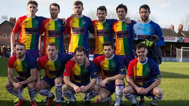 equipo de futbol homofobia