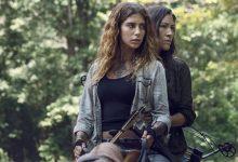 'The Walking Dead' pareja lesbianas