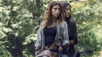 'The Walking Dead' pareja lesbianas