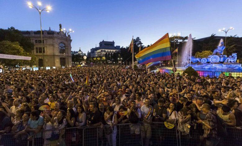 Orgullo de Madrid. sitios LGTB+ San Valentín