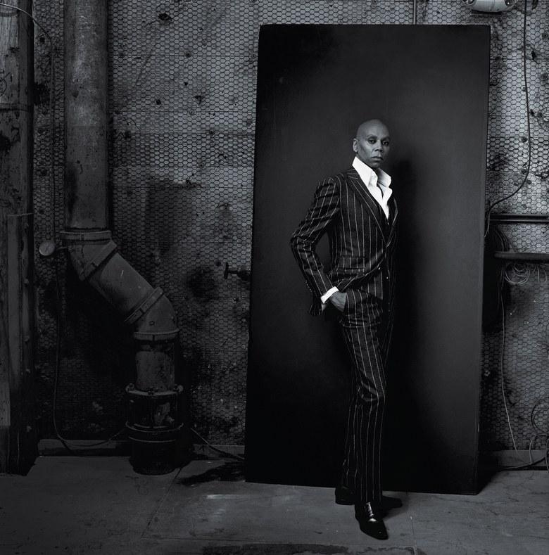 RuPaul sesión fotos Vogue