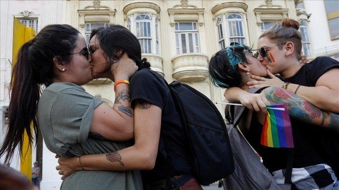 Manifestación LGTB+ Cuba