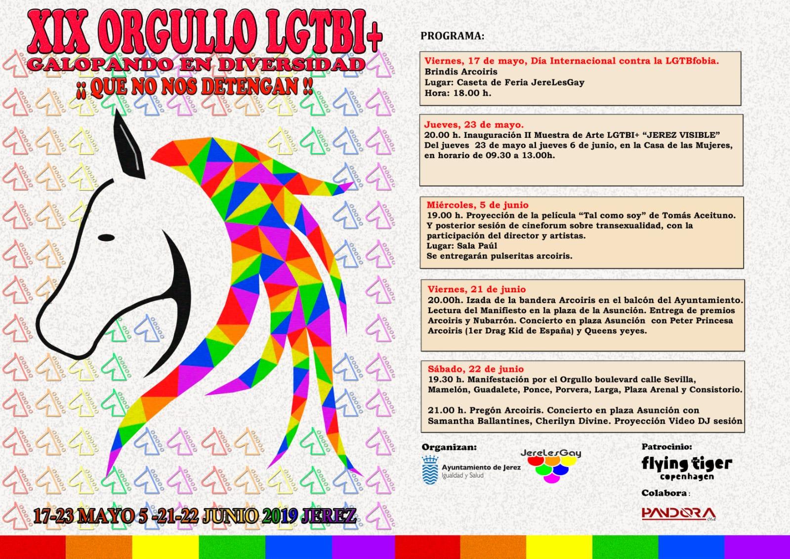 Orgullo LGTBI+ Jerez