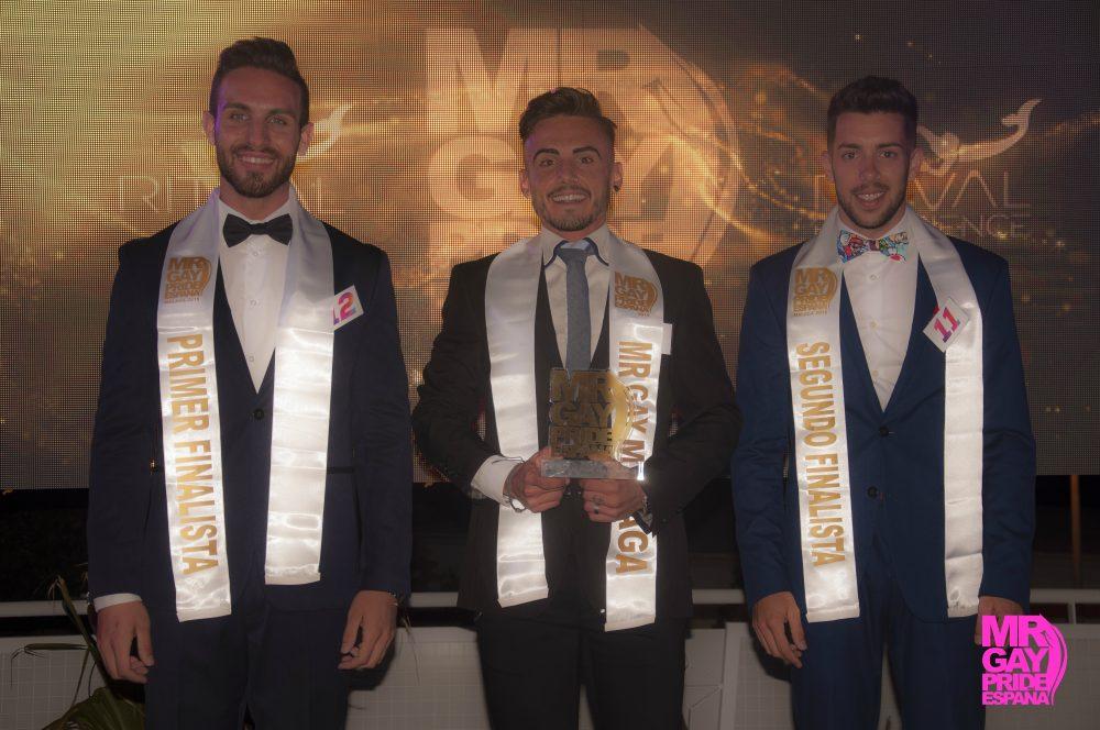 Finalistas Mr. Gay Pride Málaga 2019
