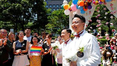 Photo of Taiwán celebra las primeras bodas homosexuales: «Me siento afortunado»