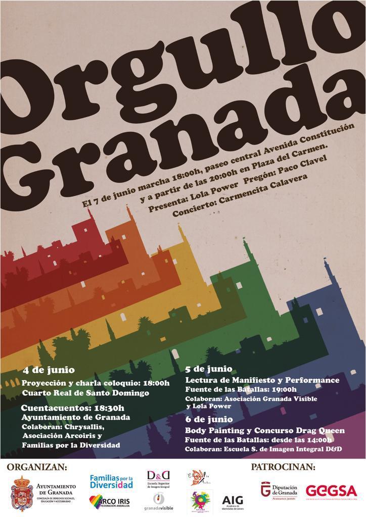 Orgullo LGTB+ de Granada 2019