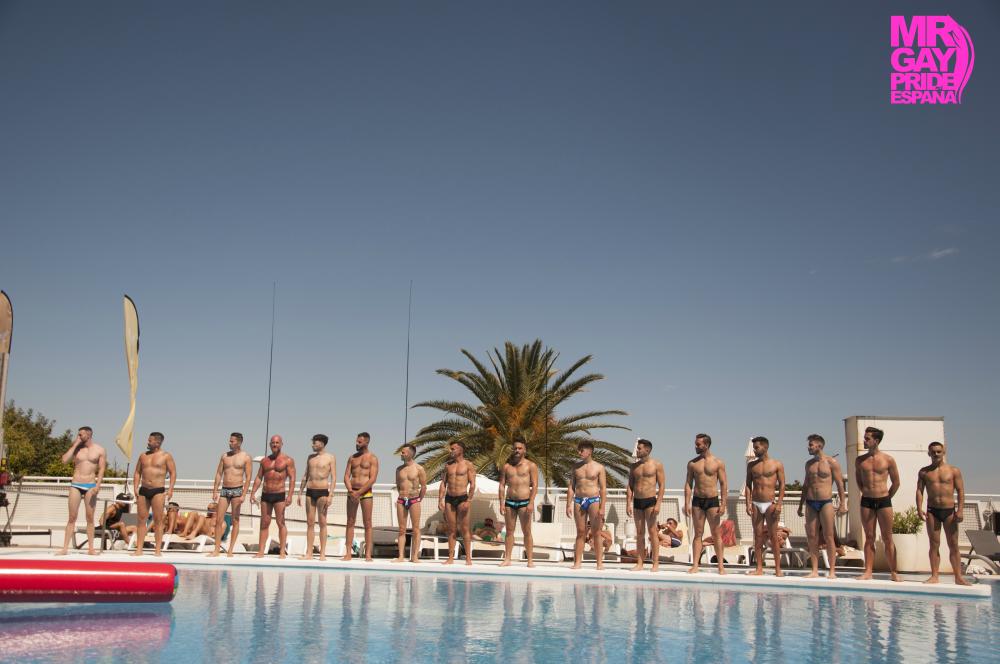 Traje de baño Mr. Gay Pride Málaga 2019