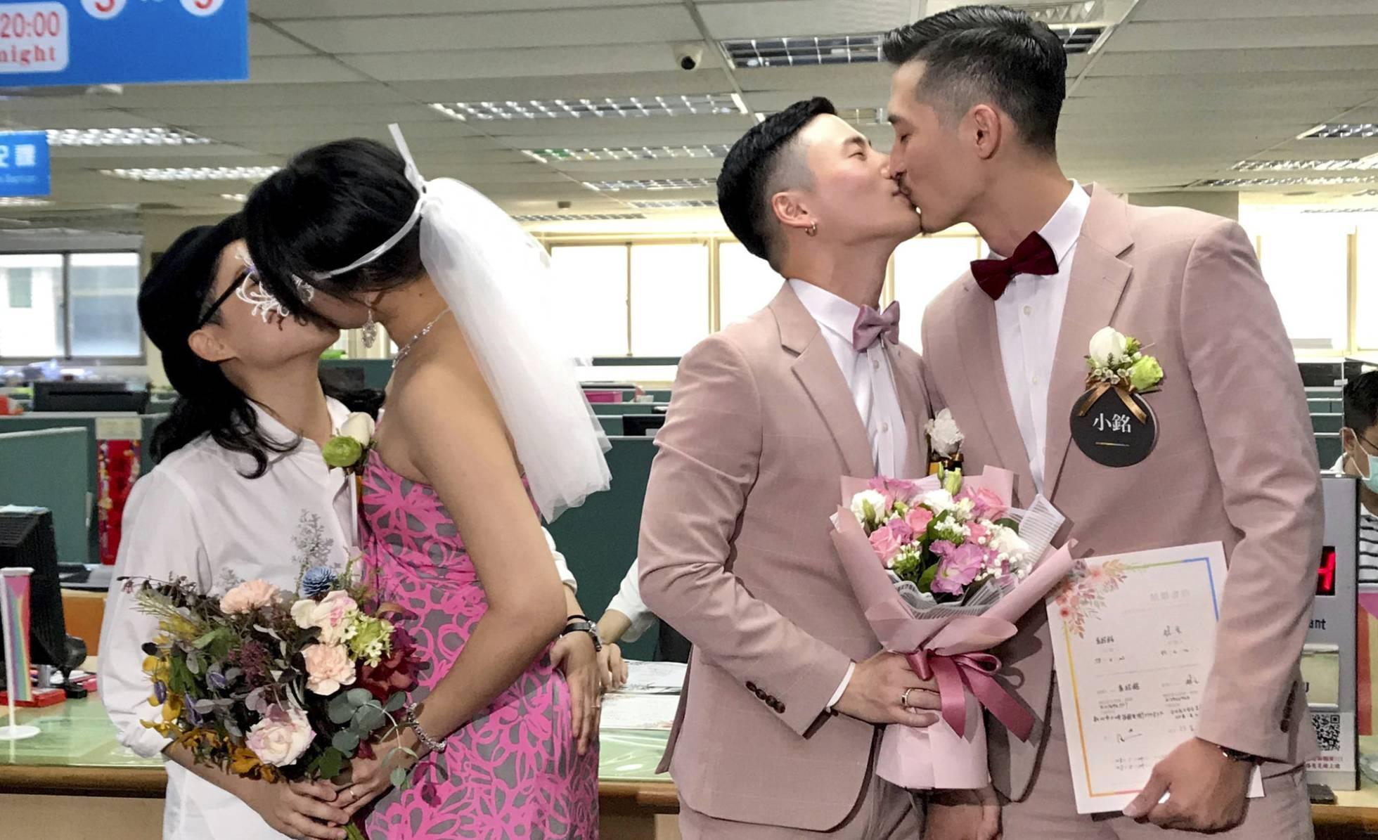 bodas homosexuales Taiwan