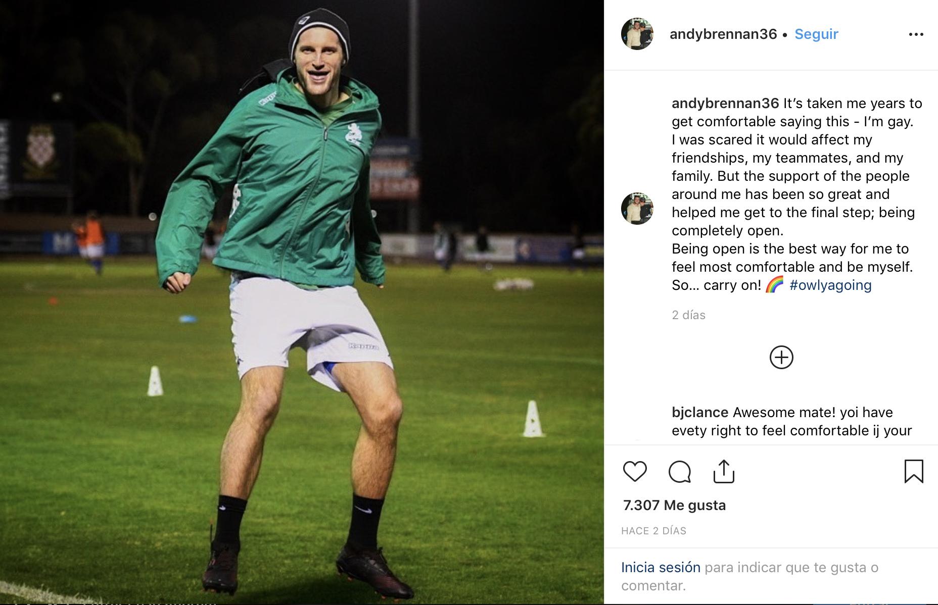 futbolista australiano gay