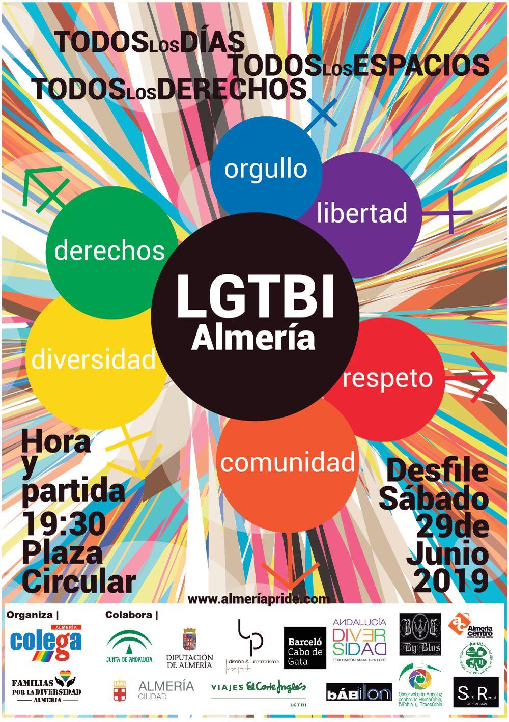 Orgullo LGTB+ Almería 2019