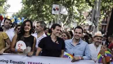 Photo of Ciudadanos rechaza firmar el decálogo de los organizadores del Orgullo LGTB+ en Madrid