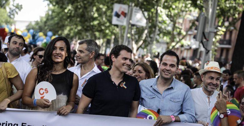 Ciudadanos rechazo Orgullo Madrid