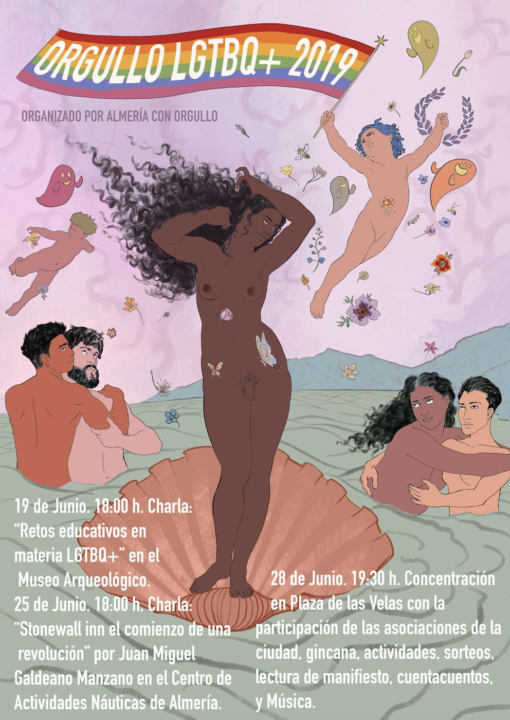 Orgullo LGTB+ Almeria 2019