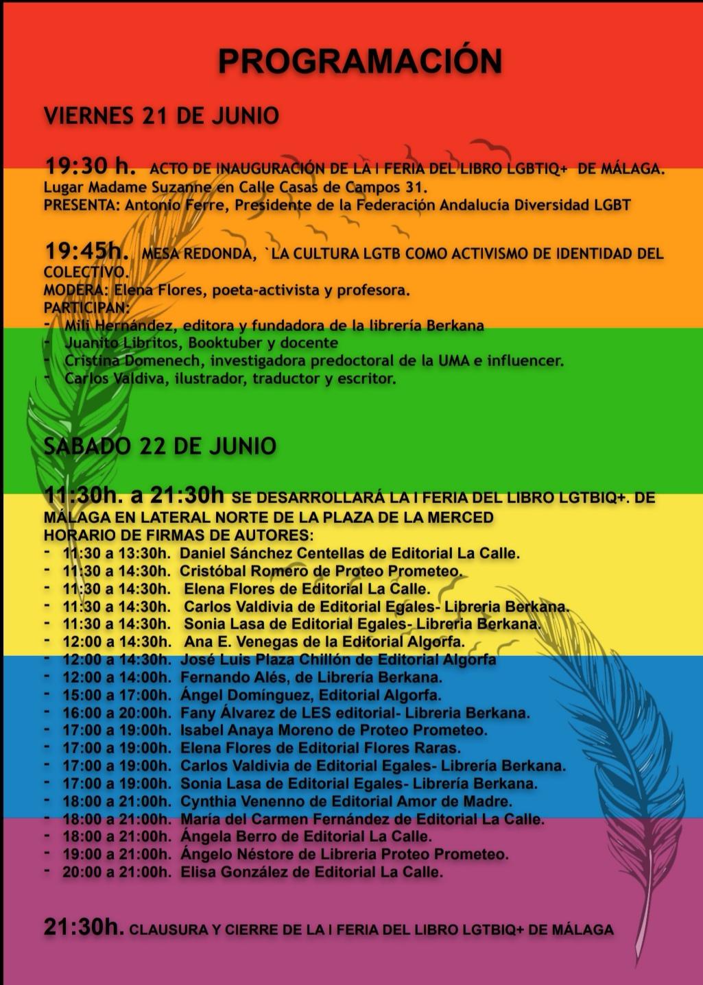 Orgullo LGTB+ de Málaga 2019
