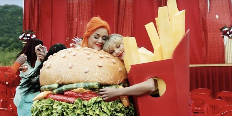 Katy Perry y Swift nuevo video