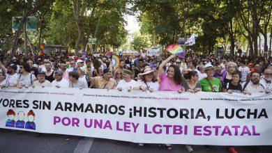 Photo of FELGTB y COGAM agradecen a la ciudadanía el seguimiento masivo de la manifestación para homenajear a las primeras generaciones de activistas