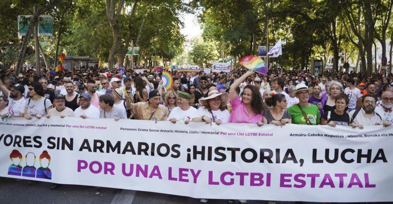 Manifestación orgullo Madrid
