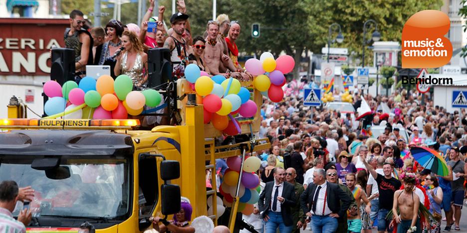 Program of Benidorm Gay Pride