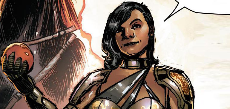 Marvel superheroína Transexual