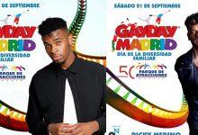 Ricky Merino y Famous gayday madrid
