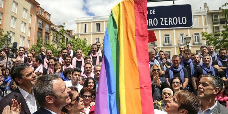 Vox plaza de Pedro Zerolo