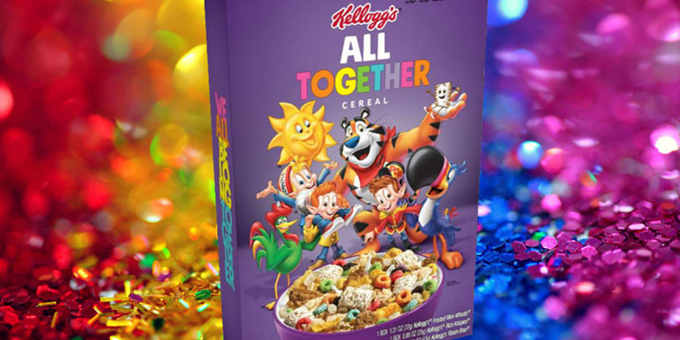 Kellogg's cereales LGTB+