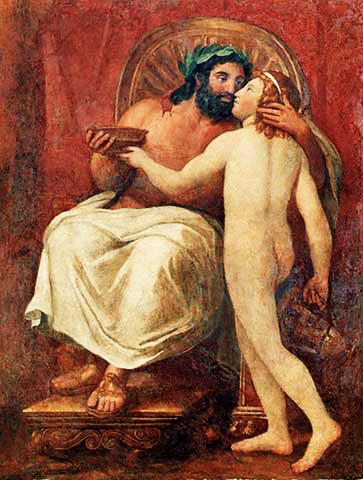 Zeus y Ganimedes. Anton Raphael Mengs (1758-59)