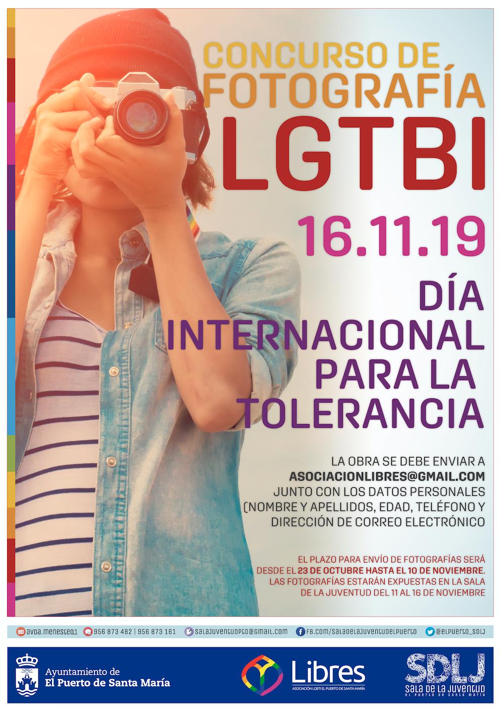 Concurso de Fotografía LGTBI asociación libres