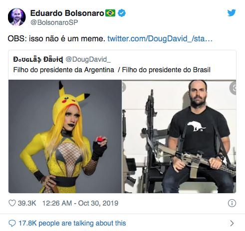Hijo presidente Argentina