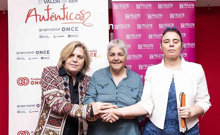 Fundación ONCE, Inserta Empleo y FELGTB combatirán la discriminación múltiple que sufren las personas LGTBI con discapacidad