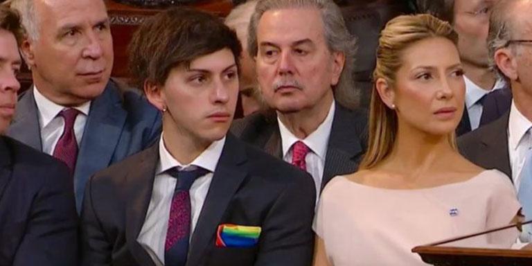 presidente Argentina hijo bisexual