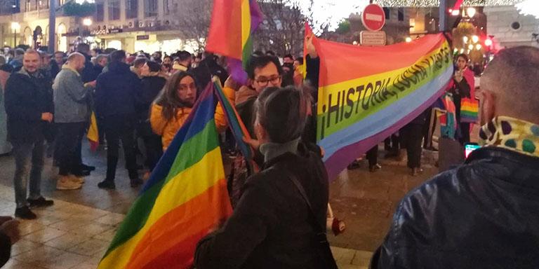 Banderas LGTB+ Granada