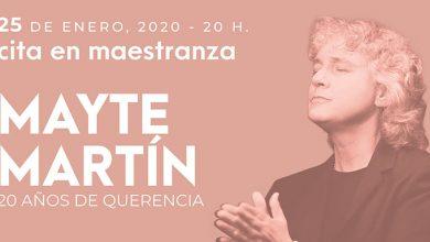 Photo of '20 años de Querencia', de Mayte Martín, el 25 de enero en el Teatro de la Maestranza
