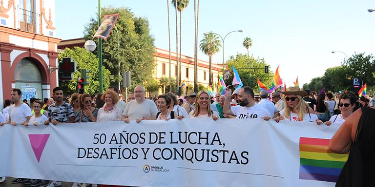 Orgullo Sevilla 2020. Orgullo LGTBI Andalucía 2020