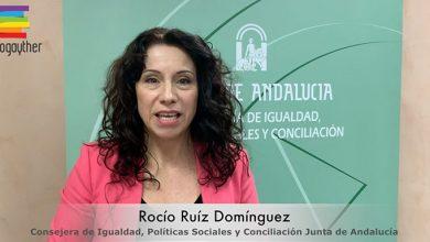 Photo of La Consejera de Igualdad de la Junta de Andalucía muestra su apoyo a las asociaciones LGTBI en la lucha contra el pin parental