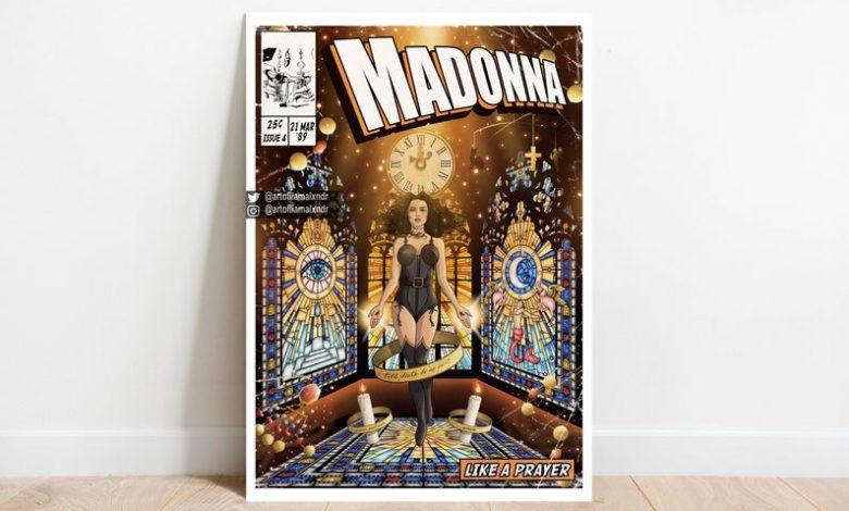 Madonna Comic