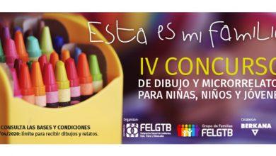 Photo of FELGTB lanza el concurso «Esta es mi familia»
