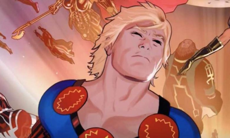 Marvel beso gay