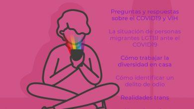 Photo of #EspacioArcoiris, una iniciativa divulgativa para informar y formar en tiempos de Coronavirus