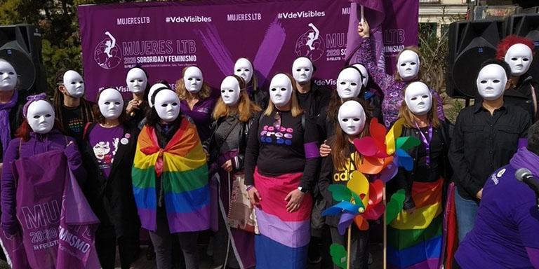 Mujeres LBT visibilidad