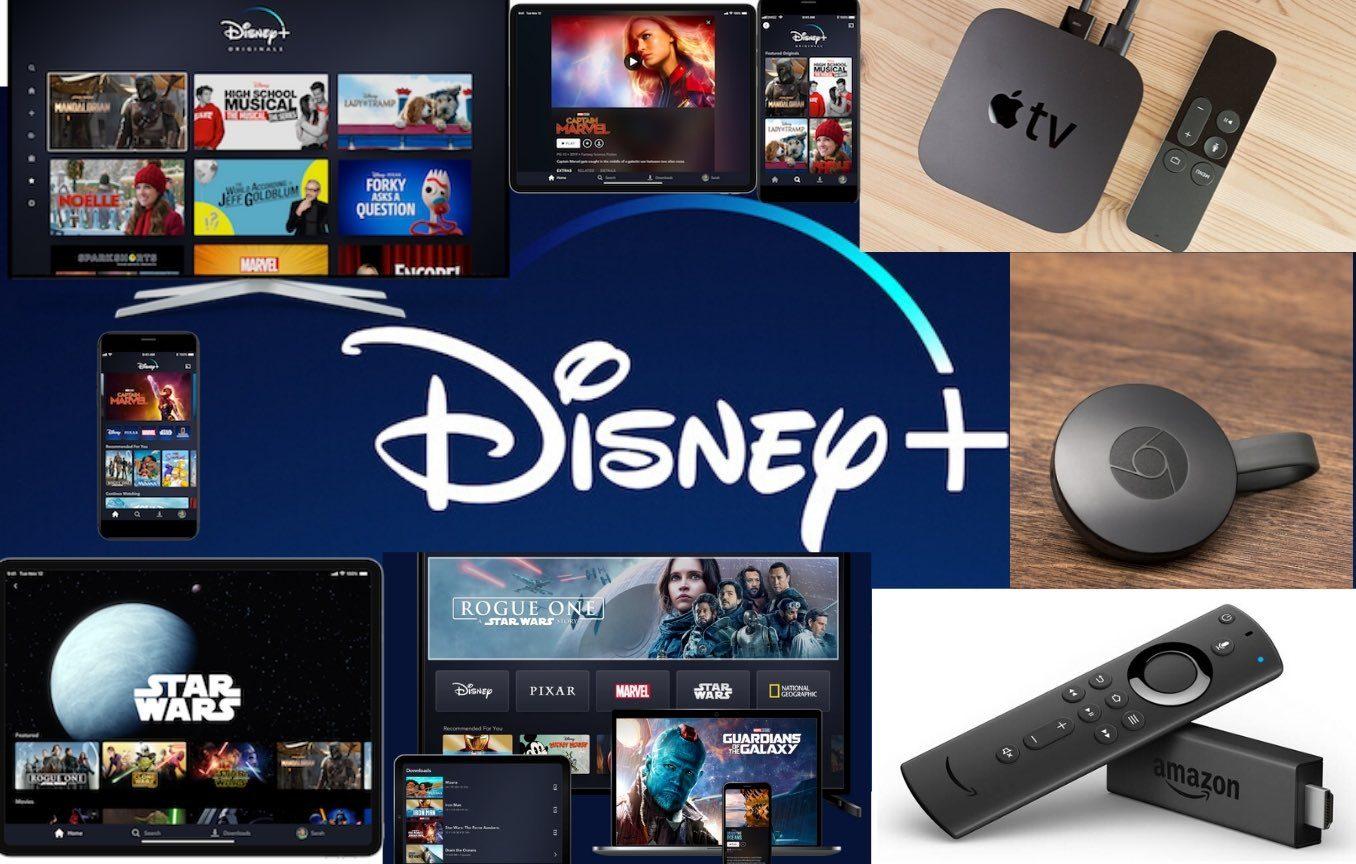 Disney + plataformas